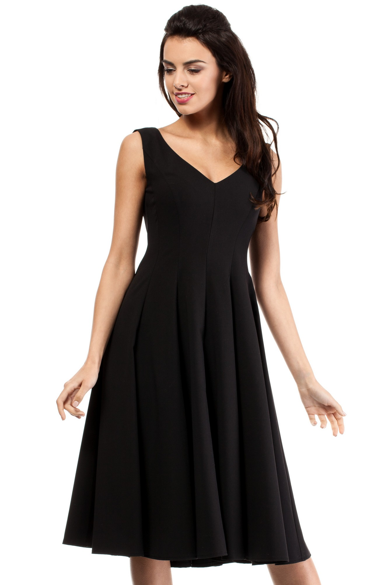 Black cocktail dress strip video