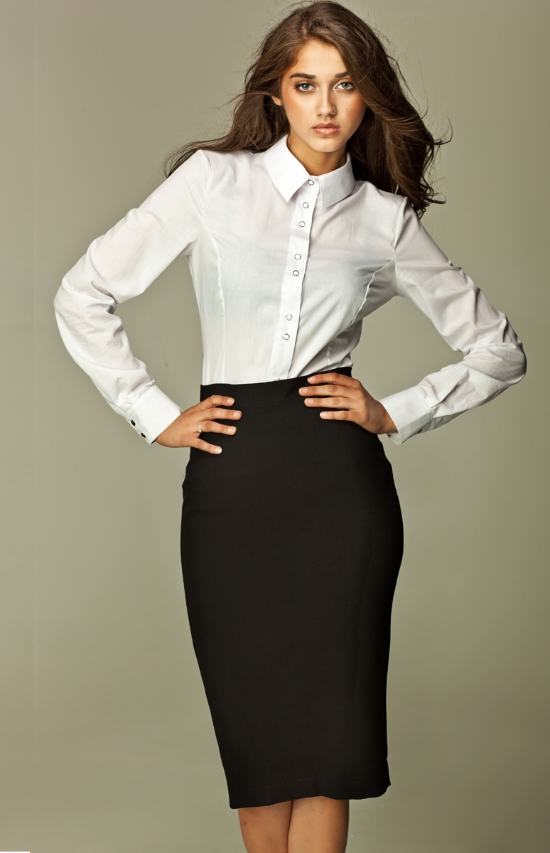 black pencil skirt nip13bl idresstocode online boutique. Black Bedroom Furniture Sets. Home Design Ideas