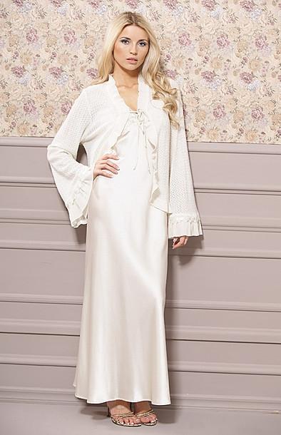 la mode des robes de france robe longue satin blanc. Black Bedroom Furniture Sets. Home Design Ideas