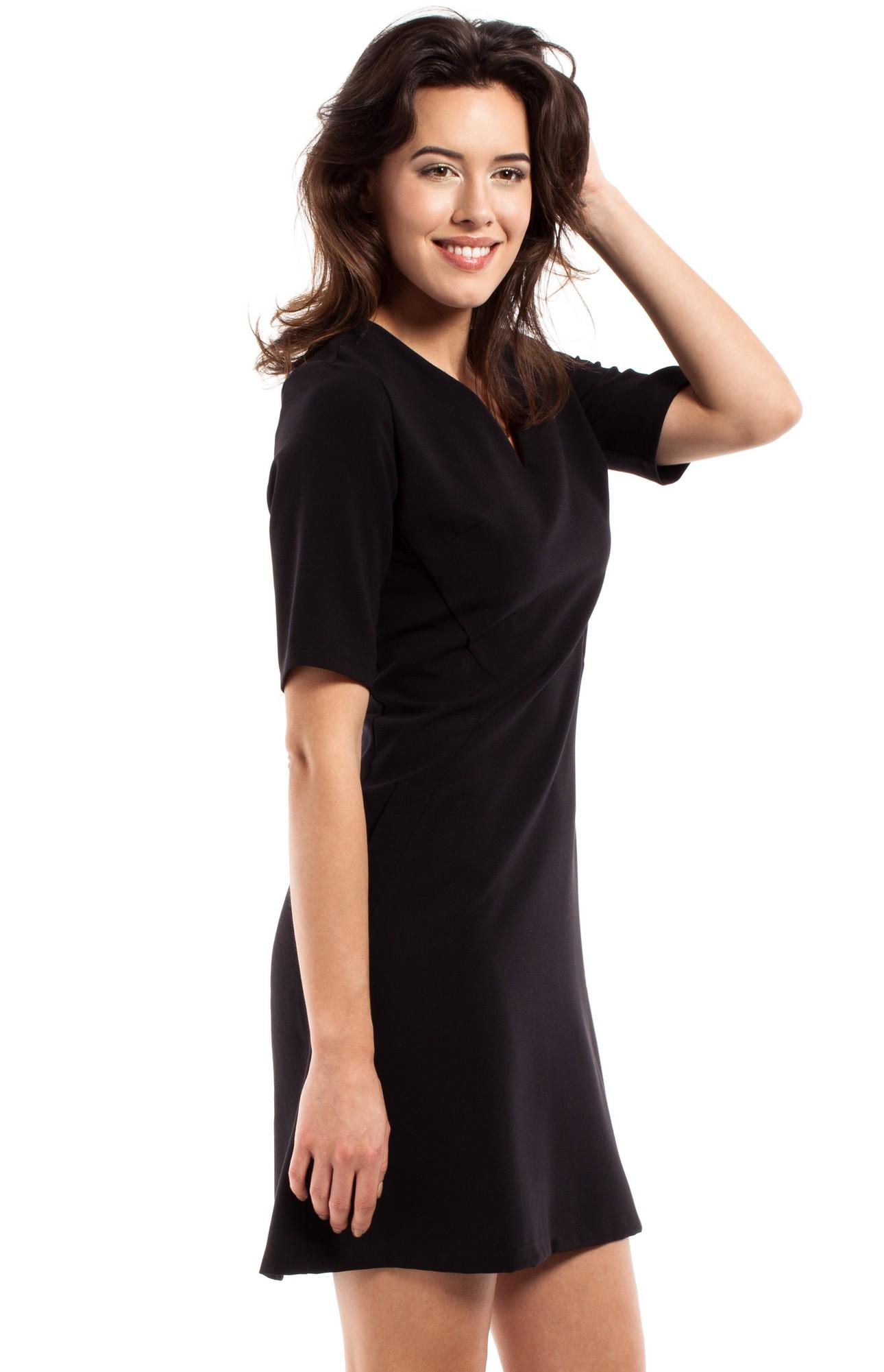 6b098710c1b Robe noire simple et chic robe chic cocktail