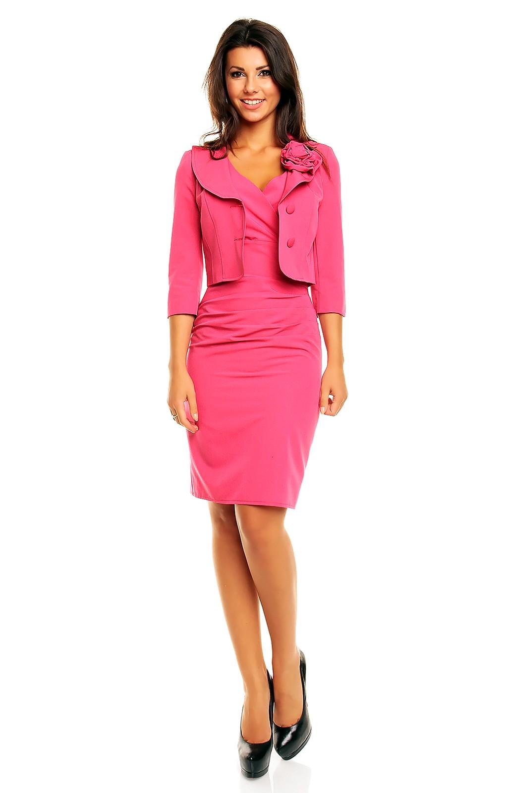 Pink dress suits cocktail dresses 2016 - Dressing ouvert ...