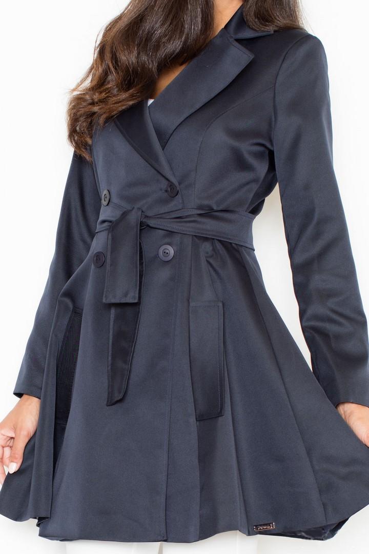 ... prêt à porter femme manteaux trench femme cabourg bleu marine
