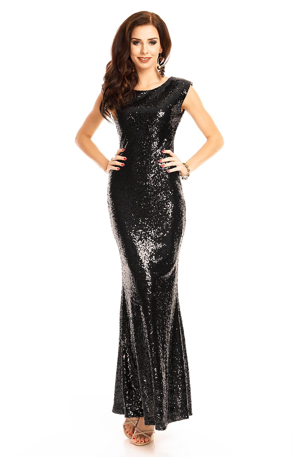 Robe cocktail chic longue