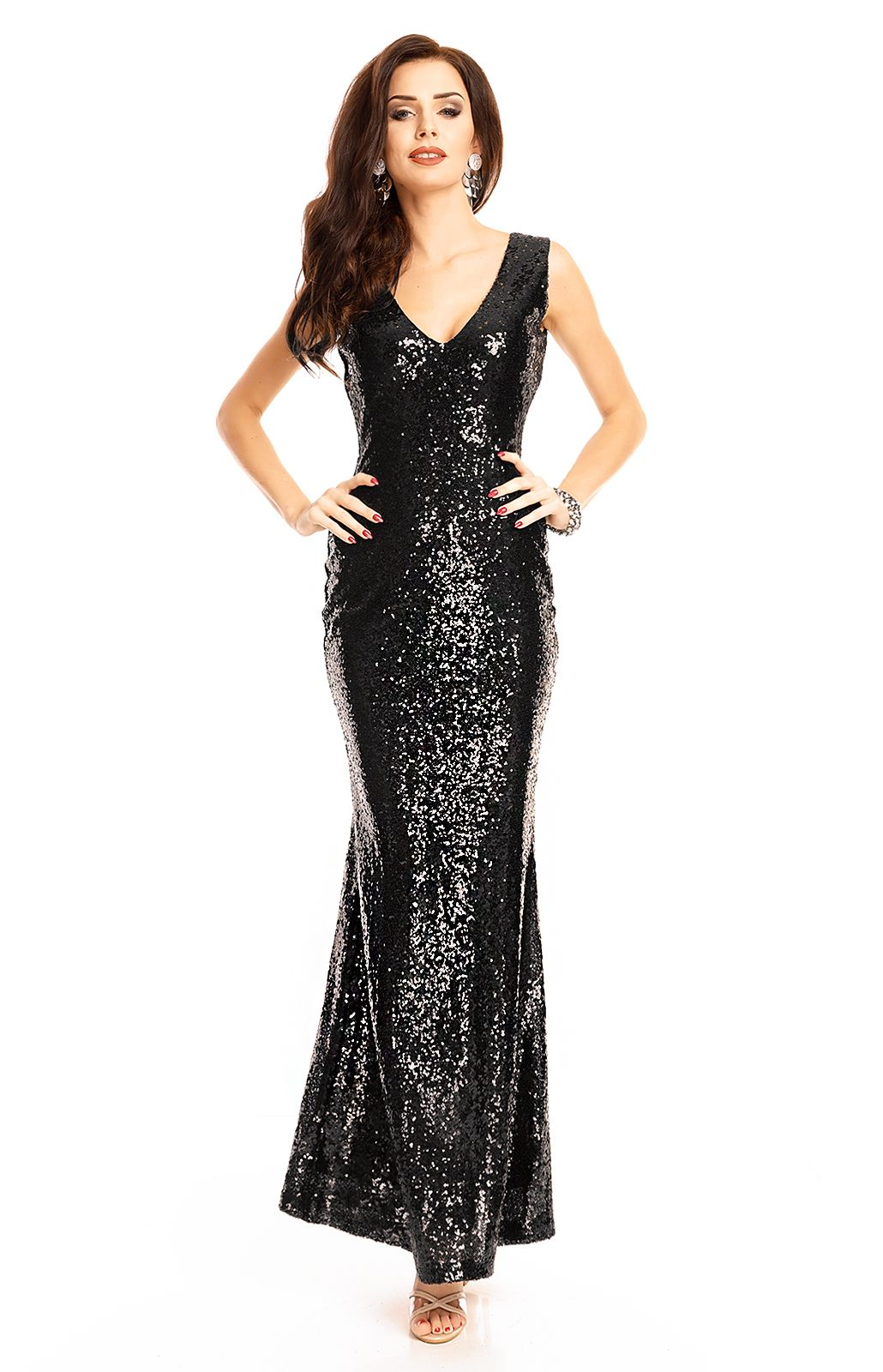 Black evening gown Emma Emma Ashley WJ7238N : idresstocode: online ...