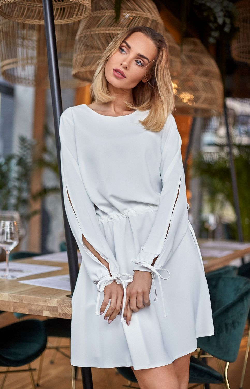 39770b04d9e Robe style Boho écru Made of Emotion ME426E   idresstocode  boutique ...